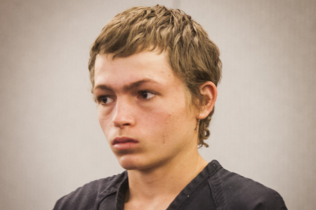 Erich Nowsch appears for his initial appearance on Monday, Feb 23, 2015, at  Regional Justice Center, 200 Lewis Avenue.  The  19-year-old is charged with murder in the road rage shooting death of  ...