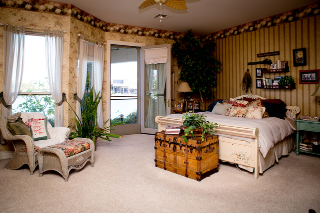 Tonya Harvey/Real Estate Millions  The master bedroom in the Coletti home.