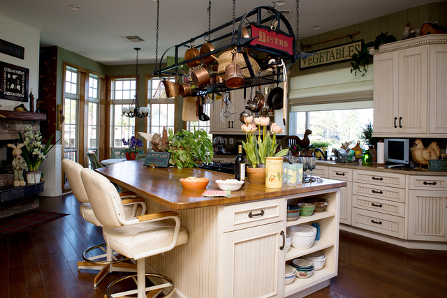 Tonya Harvey/Real Estate Millions  The kitchen in the Coletti home.