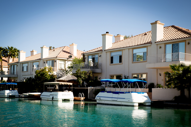 Tonya Harvey/Real Estate Millions  There are condos on Lake Sahara at The Lakes.