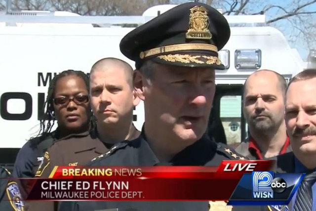 Milwaukee Police Chief Ed Flynn (Screengrab/WISN)