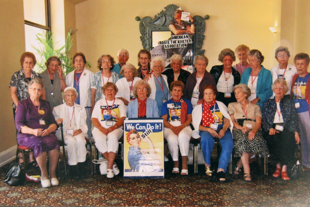 Members of the American Rosie The Riveter Association are shown in this undated photo. (Special to View)