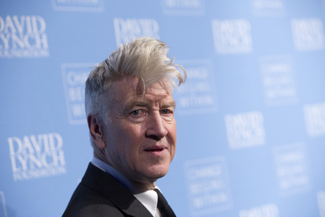 Director David Lynch attends the 'Change Begins Within: An Historic Night of Jazz to benefit The David Lynch Foundation' event in New York December 13, 2012. (REUTERS/Andrew Kelly)