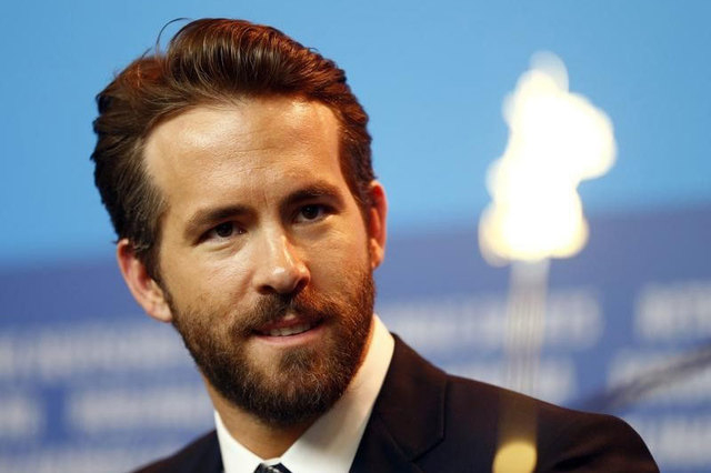 "Actor Ryan Reynolds looks on during a news conference to promote the movie ""Woman In Gold"" at the 65th Berlinale International Film Festival, in Berlin, Feb. 9, 2015. Reynolds was involved in a hi ..."