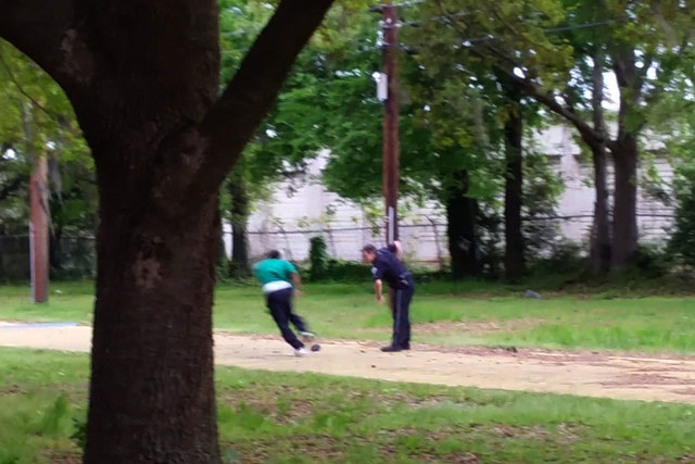 This still, released by the family of Walter Scott, appears to show North Charleston, South Carolina, police officer Michael Slager shooting Scott in the back as he ran away from the officer. The  ...