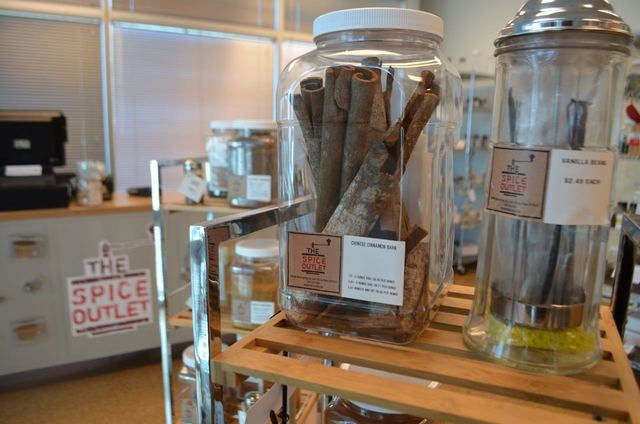 Chinese cinnamon bark and whole vanilla bean are among items sold at The Spice Outlet, 6960 W. Warm Springs Road, No. 150. (Ginger Meurer/View)