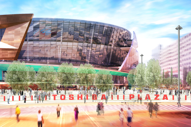 Anschutz Entertainment Group is partnering with MGM Resorts International on the 20,000-seat arena. (Courtesy AEG)