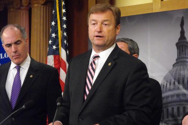 Sen. Dean Heller, R-Nev. (Steve Tetreault/Stephens Washington Bureau)