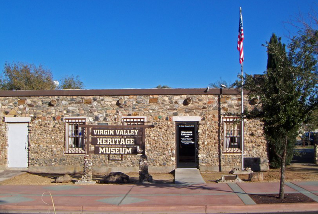 Visit the Virgin Valley Heritage Museum to learn the history of the Mesquite area. (Courtesy)