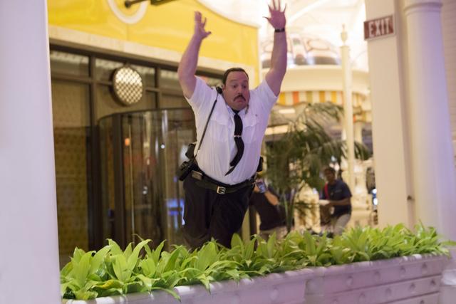 Paul Blart (Kevin James) in Columbia Pictures' PAUL BLART: MALL COP 2.