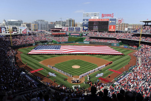 a21345af The Washington Nationals will host the 2018 All-Star Game. Apr 6, 2015;  Washington, DC, USA; New York Mets and Washington