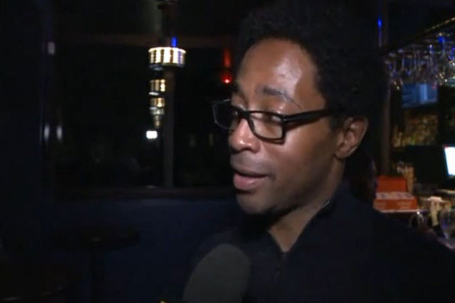 Wesley Bell was one of two African-Americans elected to the city council in Ferguson, Missouri, on Tuesday, April 8, 2015.(Screengrab/KTVI TV)