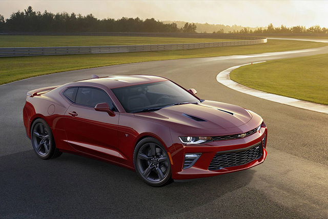 The 2016 Camaro SS is shown in this undated handout photo provided by General Motors in Detroit, Michigan, May 16, 2015.  General Motors Co unveiled the sixth generation of its Chevrolet Camaro on ...