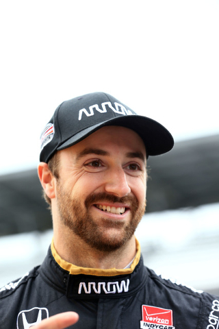 James Hinchcliffe suffered injuries to his pelvic area and upper left thigh during a practice crash Monday for the 2015 Indianapolis 500 at Indianapolis Motor Speedway. Hinchcliffe is out of inten ...