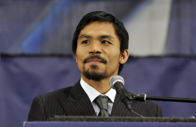Filipino boxer Manny Pacquiao lost a unanimous decision to American Floyd Mayweather Jr. on Saturday night, but the devout fighter is keeping the faith — as do his fans.