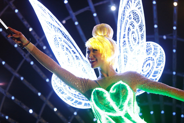 """Tinker Bell will be featured as part of Disneyland's """"Paint the Night"""" during the park's Diamond Celebration. The show is inspired by the iconic """"Main Street Electrical Parade."""""""