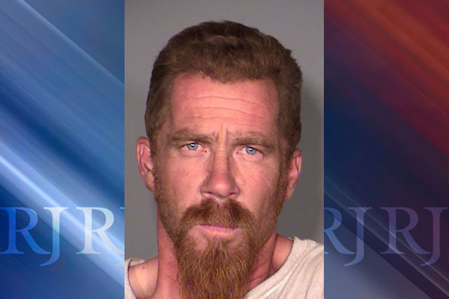 Bernard Tropp, 44, faces DUI charges after he crashed a tractor-trailer he was driving into a taxi cab on Wednesday, May 27, 2015. (Courtesy/Las Vegas Metropolitan Police Department)