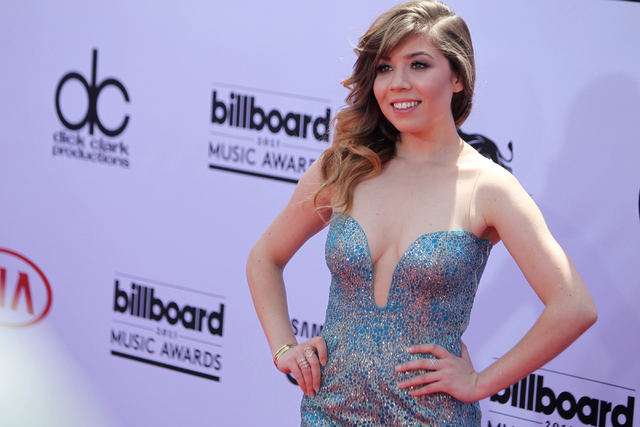 Actress Jennette McCurdy poses for photos at the Billboard Music Awards red carpet outside of the MGM Grand Garden Arena in Las Vegas Sunday, May 17, 2015. (Erik Verduzco/Las Vegas Review-Journal) ...