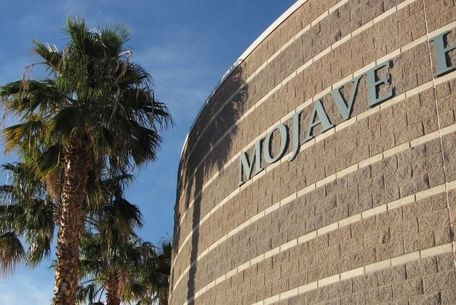 Mojave High School is one of the five high schools being cleaned in the wake of last week's norovirus outbreak linked to a visiting football team. (File, GREG HAAS/LAS VEGAS REVIEW-JOURNAL)