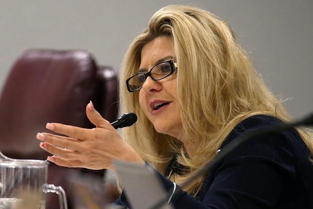 Assemblywoman Michele Fiore, R-Las Vegas, shown Feb. 19, 2015. (Cathleen Allison/Las Vegas Review-Journal)