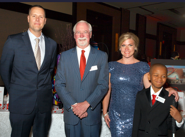 Ty Anderson, from left, Robert Anderson, Elizabeth Sieck and Christian Lowe