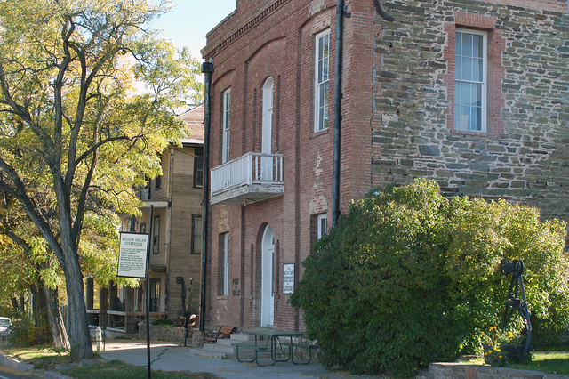 """Pioche's infamous """"Million Dollar Courthouse."""" (Courtesy/Pioche Chamber of Commerce)"""