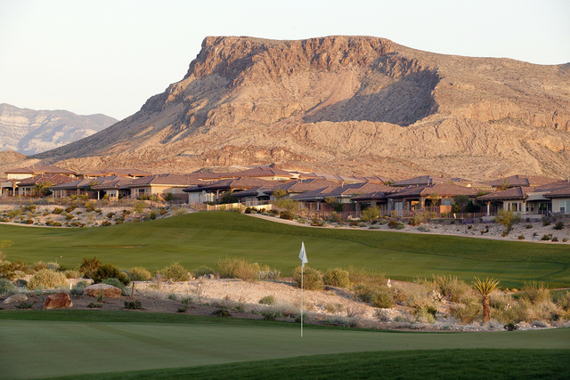 Bears Best Golf Course in the centerpiece for The Ridges in Summerlin. (Courtesy)