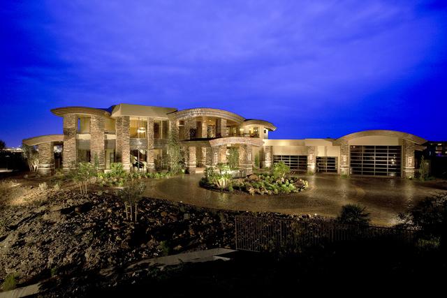 Sun West Custom Homes has built three estates in the Ridges. (Courtesy)