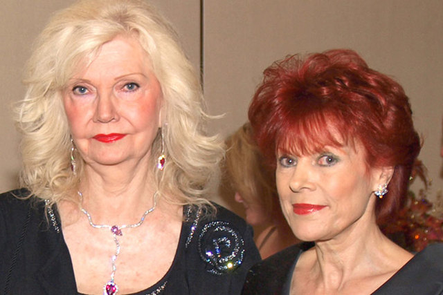 Cindy Doumani, left, and Vera Goulet are shown at a Las Vegas event in October 2010. (Las Vegas Review-Journal file)