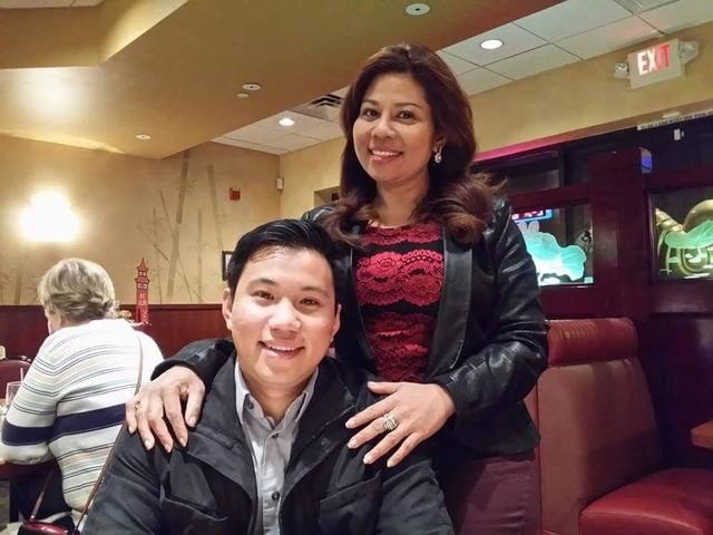 Grace Aye and her son William Parke pose for a photo on Dec. 25, 2014, their last photo together. Parke died four days later after a sucker punch at the Venetian Hotel and Casino left him unconsci ...