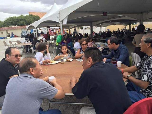St. Peter the Apostle Roman Catholic Church, 204 S. Boulder Highway, celebrated its 73rd anniversary April 25 and 26. The two-day festival included music, food, games, carnival rides, car show, ya ...