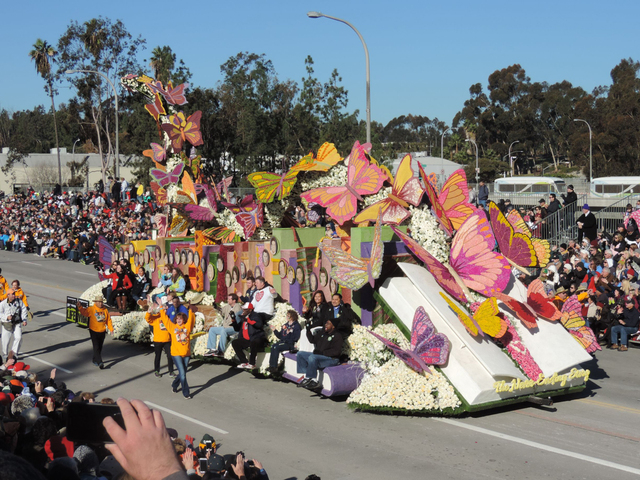 Millions around the country watched as  floral floats made their way through the streets of Pasadena, Calif., in the annual Tournament of Roses Parade on Jan. 1, 2015. This year, one of those floa ...