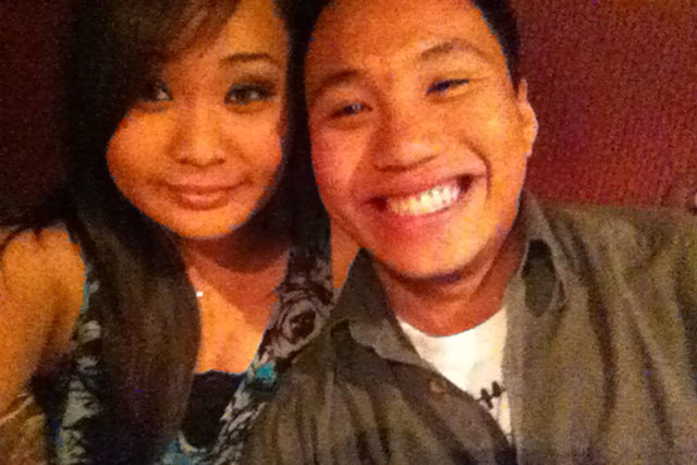 William Parke and his girlfriend, Nicole Fontanilla, pose for a photo in 2013. Parke died on Dec. 29, 2014, after a sucker punch at the Venetian Hotel and Casino left him unconscious on a elevator ...