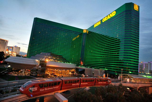 MGM Grand in Las Vegas. (Las Vegas Review-Journal file)