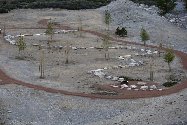 A trail at the Spring Mountains Visitor Gateway on Kyle Canyon Road in Las Vegas is seen on Wednesday, May 27, 2015. (Erik Verduzco/Las Vegas Review-Journal) Follow Erik Verduzco on Twitter @Erik_ ...