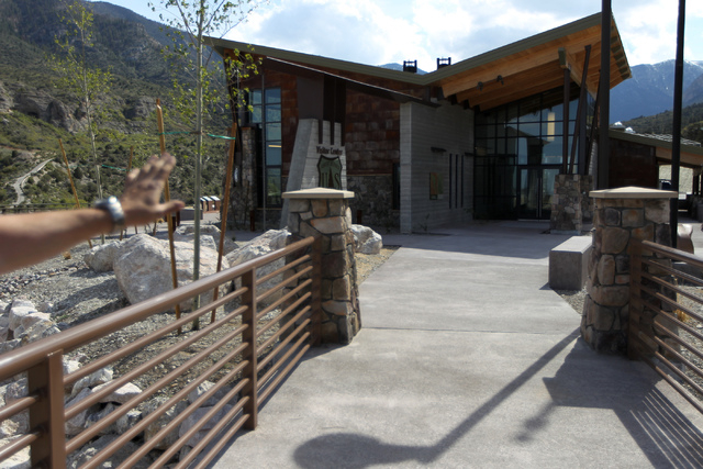 The visitor center at the Spring Mountains Visitor Gateway on Kyle Canyon Road in Las Vegas is seen on Wednesday, May 27, 2015. (Erik Verduzco/Las Vegas Review-Journal) Follow Erik Verduzco on Twi ...
