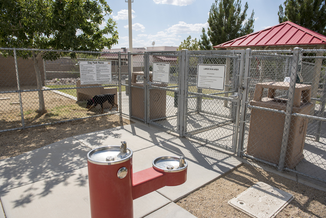 Amador Vista Dog Park is shown at 1562 Amador Lane in Henderson on Tuesday, May 19, 2015. (Martin S. Fuentes/Las Vegas Review-Journal)