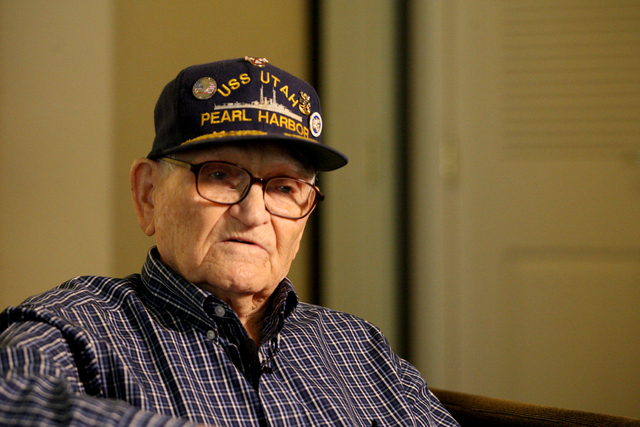Pearl Harbor Survivor, William Everett Hughes, 93, still remembers vividly how he heard the explosions coming from battleship row on the morning of December 7, 1941 when he witnessed the Japanese  ...