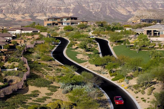 The Ridges parkway. (Courtesy)