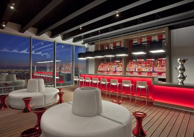 Co-designed by New York's Tony Chi, you could be fooled into thinking the Red2One is in midtown Manhattan -- if it weren't for the views over the snow-capped Andes. (W Santiago/CNN)
