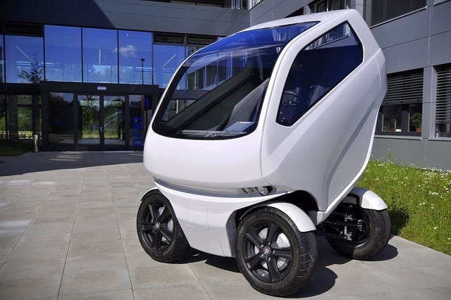 The EO Smart Connecting Car 2 is an innovative design from DFKI Robotics Innovation Center, based in Bremen, Germany, where a team of software developers and designers, as well as electronics and  ...