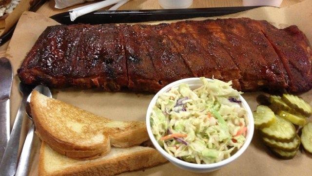 2. Joe's Kansas City Bar-B-Que, Kansas City, Kansas  Fall-off-the-bone ribs helped earn a No. 2 ranking for Joe's Kansas City Bar-B-Que. (CNN)