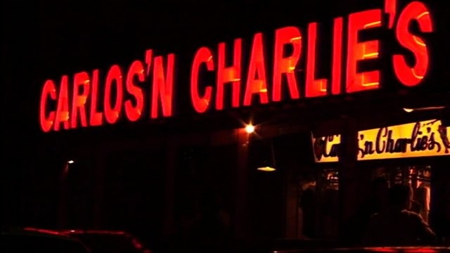 An exterior night shot of Carlos'n Charlie's in Oranjestad, Aruba. Natalee Holloway was last seen leaving the restaurant before she disappeared on May 30, 2005. (CNN)