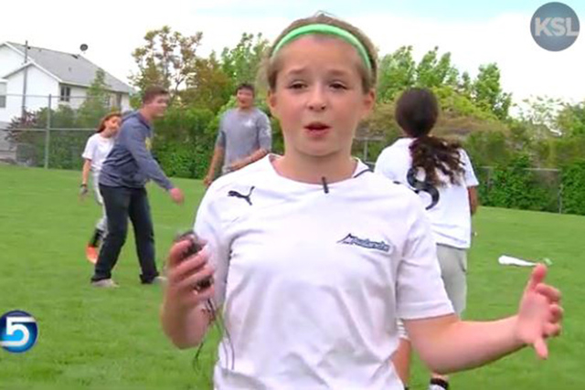 Utah Girl Helps Create First Girls Only Tackle Football League Las