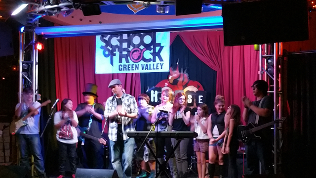 School of Rock Green Valley Students performed their first concert April 25 at the House of Blues at Mandalay Bay, 3950 S. Las Vegas Blvd. South. The school opened in December and offers music les ...