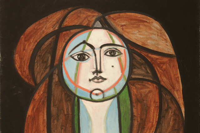 """Forty-three works by Pablo Picasso -- including all of """"Femme au Collier Jaune"""" (which is partially shown here) -- will be on display at Bellagio's Gallery of Fine Art, starting July 3, as part of ..."""