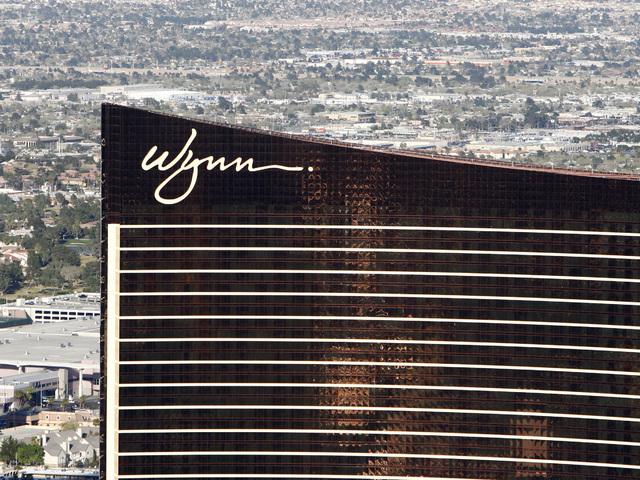Wynn Resorts Ltd. (DUANE PROKOP / LAS VEGAS REVIEW-JOURNAL)