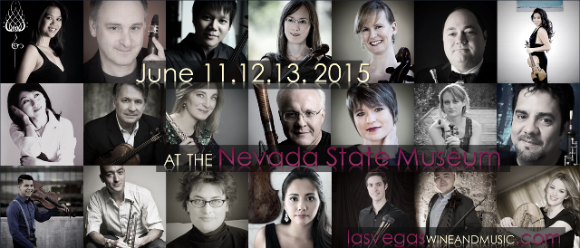 A collage featuring the multiple musicians performing at the first Las Vegas Wine and Music Festival, which begins Thursday at the Nevada State Museum. (Courtesy.)