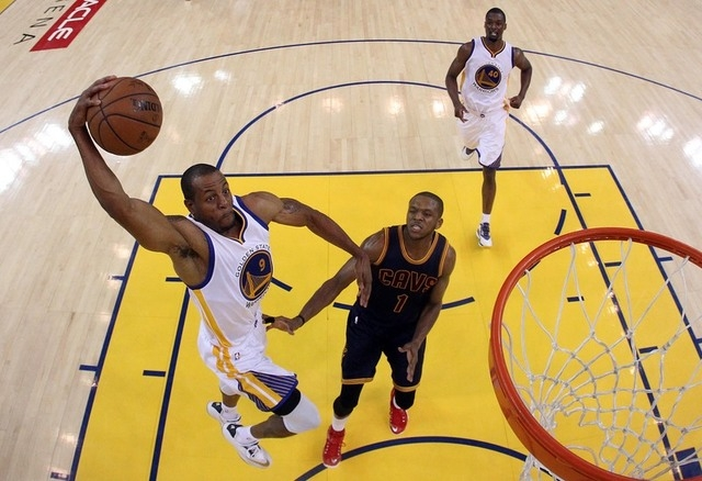 Last night's Warriors-Cavs thriller set a NBA Finals Game 1 rating record | Las Vegas Review-Journal