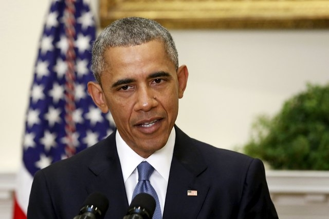 President Barack Obama on June 24, 2015. (Reuters/Jonathan Ernst)